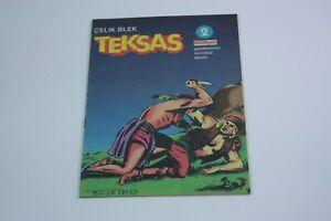 IL GRANDE BLEK #2 Turkish Comic Book 2000s Very Rare ESSEGESSE Teksas