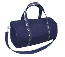 Authentic Goldman Sachs Small Canvas Duffle Bag - Navy