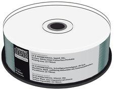 50 Mediarange Rohlinge CD-R full printable 100Min 900MB 48x Spindel