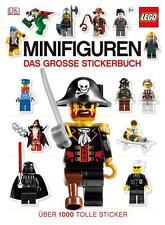 LEGO Minifiguren Das große Stickerbuch von Victoria Taylor (2012, Moderner Einband)