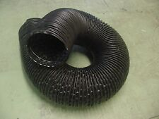 """Olds 4"""" Black Flexible Air Cleaner Intake Tube Hose Defroster SOLD BY THE FT Nos"""