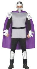 Shredder Adult Fancy Dress Costume Ninja Halloween Turtle Outfit Unisex Mask