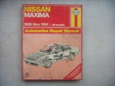 Nissan Maxima,  Haynes Repair Manual, Service Guide 1985-1991. Book