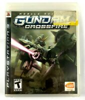 Mobile Suit Gundam: Crossfire Game Sony PlayStation 3, PS3 2006 Complete