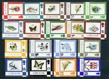 Gibraltar 1977 Birds,  Fish, Flowers, Butterflies MNH Set