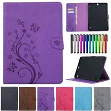 "For Samsung Galaxy Tab A S5e S2 8"" 9.7"" 10.1"" 10.5"" Wallet Case PU Leather Cover"