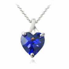 Love Hearts Sapphire Fine Necklaces & Pendants
