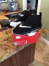 Nike Air Zoom Flight The Glove Gary Payton Size 10 Black and White