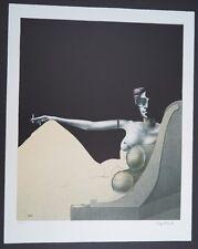 Paul Wunderlich Madame Recamier Farblithographie 1981 handsign. und num. 64/1000