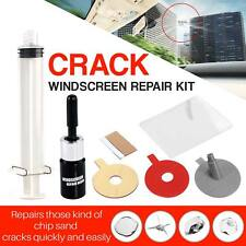 New Car Windscreen Repair Kit DIY Chip Window Screen Crack Polishing Scratches