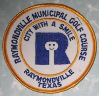 Raymondville Municipal Golf Course Patch - Texas - City With A Smile