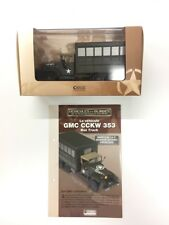 GMC Cckw 353 Box Truck 1/43 Vehicles and Shielded of the Second War World
