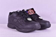 Women's Skechers Felton - Albie Lace Up Work Sneakers, Black, 10M