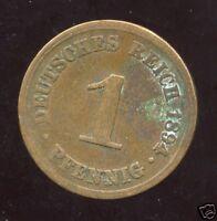 ALLEMAGNE 1  pfennig  1894 A