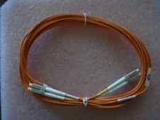 FIBER OPTIC CABLE LC/LC 5M DUPLEX LC-LC 15 FT AMPHENOL