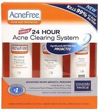 Acne Free Clear Skin Kit Acnefree System NIB