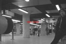 PHOTO  NETHERLANDS AMSTERDAM TRAIN 1978 WEESPERPLAIN GVBA CONCOURSE