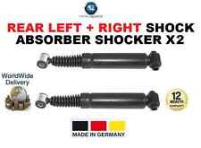 FOR PEUGEOT 206 VAN BOX 1999-ON REAR LEFT + RIGHT SHOCK ABSORBER SHOCKER X2