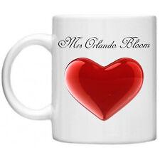 Orlando Bloom Funny Mug, Funny Gifts Mrs Dishwasher  Microwave Safe 11oz Mug