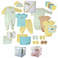 Luvable Friends Boy and Girl Shower Gift Cube, 24-Piece Set, Yellow