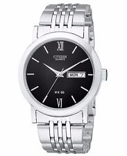 Citizen Mens Quartz Watch. Day & Date Function.Classic and Elegant. BK4050-54E