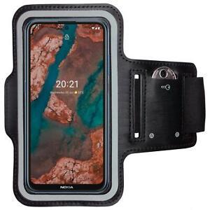 Armband für Nokia X10/X20 Sportarmband Armtasche Sport Tasche Jogging Laufhülle