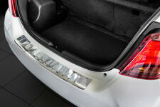 Rear bumper protector for Toyota Yaris 3 III Hatchback 2014-2018 Stainless Steel