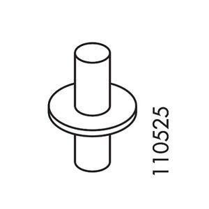 6 IKEA PIN 110525 WHEEL IKEA Hemnes DAYBED , Brimnes DAYBED LEKSVIK SHELF