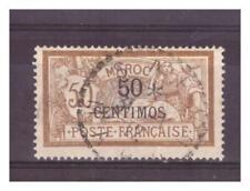 MAROC .   N°  15.  50  c  SUR   50   c    OBLITERE.   SUPERBE