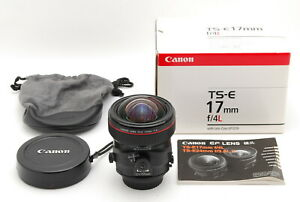 *MINT IN BOX* CANON TS-E 17mm F/4L Wide Angle Tilt Shift Lens From Japan #FedEx#