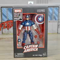 "Hasbro Marvel Legends 6""  Avengers 80th Year Captain America Figure New"