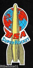 """BSA SUPER ROCKET"" MOTORCYCLE STICKER / DECAL ARIEL CAFE RACER TRIUMPH HOG"