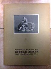 PORZELLAN SAMMLUNG GEMALDE JULIUS BISCHITZ BUDAPEST auktion 1929 / porcellana