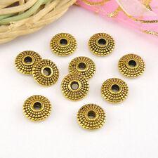 15Pcs Antiqued Gold Spacer Beads 8.5mm A5253