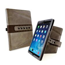 Tuff-Luv Tri-Axis Western Leather Sleep Case for Apple iPad Pro 10.5 -Brown