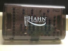 Hahn Tapered Implant Cassette