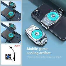 Mobile Phone Radiator Universal Mini Portable Cooling Fan Game Cooler Radiator