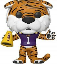 Funko - POP College: LSU - Mike the Tiger (Home Purple Jersey) Brand New In Box