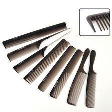 8 stile carbonio antistatico pettine professionale del salone parrucchiere spazz