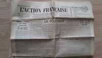 Journal Nationalist L Action Figure French 20 May 1934 N° 140 ABE
