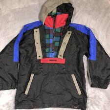 Obermeyer Junior's Coat Size Medium Ski Black Blue Pullover