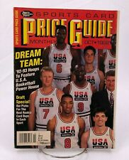 Sports Card Price Guide October 1992 Dream Team w/ass't Mint Trading Cards SCD