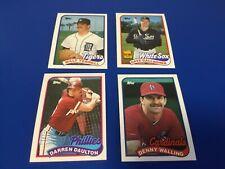 1989 Topps Baseball - #187 Darren Daulton - Philadelphia Phillies