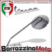 SPECCHIETTO SINISTRO CROMATO FAR VESPA PX 125 150 200 SPECIAL 50 R L N - PK S XL