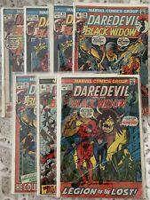 New ListingDaredevil #s 92 93x2 94x2 95 96 - Lot of 7 - Black Widow Blue Talon - Dc Comics