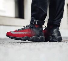 $200 Nike Zoom Mercurial XI Flyknit FC 9 Soccer Shoes Black Red Bred 852616-100