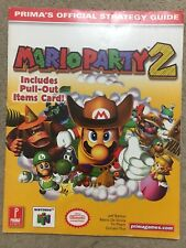 Prima official strategy guide Mario Party 2
