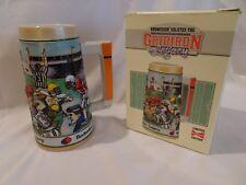 Budweiser Beer Stein GRIDIRON LEGACY CS128 Football Ceramarte Limited Ed., 1991