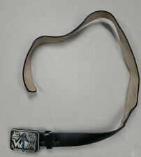 """Vintage 1984 VOLTRON Belt with Buckle YOUTH 34"""" Long New Never Worn i4"""