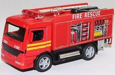Rescue Fire Engine KinsFun Model truck 12.5x5x6cm